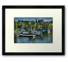 Indian Harbour Nova Scotia Framed Print