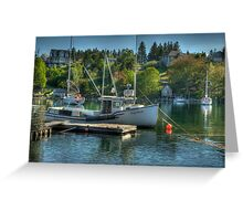 Indian Harbour Nova Scotia Greeting Card