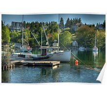 Indian Harbour Nova Scotia Poster