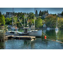 Indian Harbour Nova Scotia Photographic Print