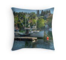 Indian Harbour Nova Scotia Throw Pillow