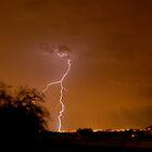 Lightning Strike Over Phoenix by ScottishVet