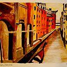 Venice Waterway by Stormswept