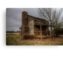 Cabin at Ft. Parker (Groesbeck, Texas) Canvas Print