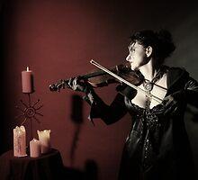 the violinist II by ARTistCyberello