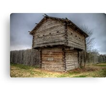Ft. Parker Stockade and Guard Tower Canvas Print