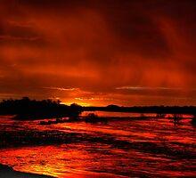 Molten dawn by Rudi Venter
