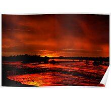 Molten dawn Poster