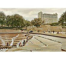 Fort Worth Water Gardens Photographic Print
