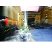 Blur Capture  Photographic Print
