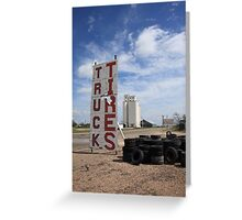 Route 66 - Adrian, Texas Greeting Card