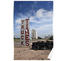 Route 66 - Adrian, Texas Poster