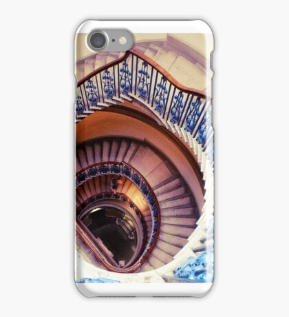 The Mystery Man at the Museum iPhone Case/Skin