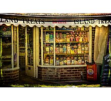 Isle of Wight Candy Store Photographic Print