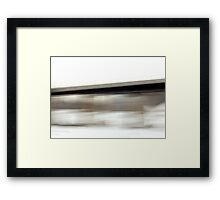 Train Trestle Over The Sioux River Framed Print