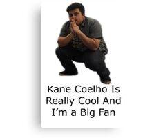 Kane Going Away Design Canvas Print