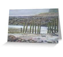 A Bit of Lynmouth Greeting Card