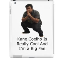 Kane Going Away Design iPad Case/Skin