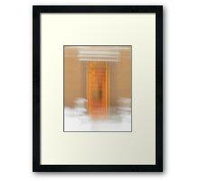 Apartment Entrance Framed Print