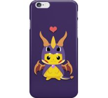 Mega Spyro Pikachu iPhone Case/Skin
