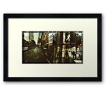 Streets of Portland 2 Framed Print