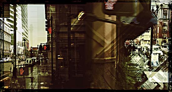 Streets of Portland by Jeff Clark
