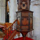 St Nicholas At Wade - Pulpit by Dave Godden