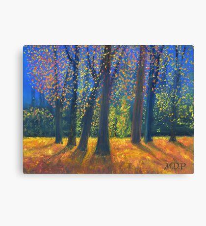Golden Fall Canvas Print