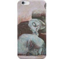peacefully restraied iPhone Case/Skin