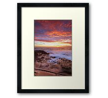 The Rift Framed Print