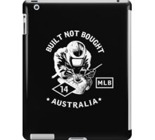 D'AMICO CUSTOM MOTORCYCLES-BUILT NOT BOUGHT iPad Case/Skin