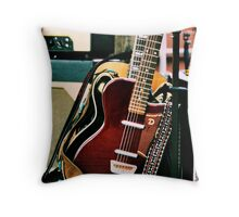 The sound of a Guitar... Throw Pillow