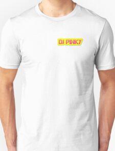 Dj Pinky Logo Design  T-Shirt