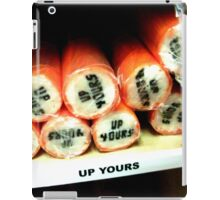 up yours rock candy iPad Case/Skin