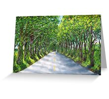 On The Road to Koloa Greeting Card