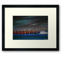Sea Mills Framed Print