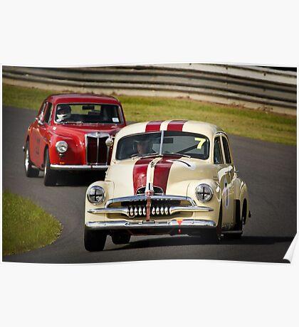 Historic Racing at Lakeside Poster