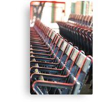 Fenway Park historic seats Canvas Print