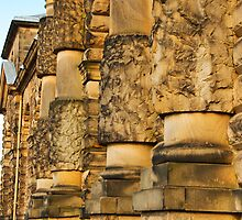 Wall of Chatsworth House by Elaine123