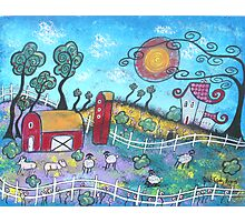 The Fanciful Farm Photographic Print