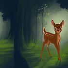 « Bambi » par AshleighJaneArt