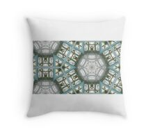 Glass House Ceiling Throw Pillow
