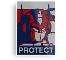 Optimus Prime - Protect Metal Print