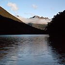 Lake Fergus, south island, NZ by Odille Esmonde-Morgan