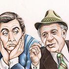 Tony and Sid (208 views as at 5th. May 2011) by Margaret Sanderson