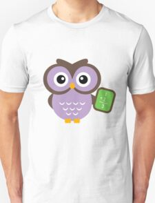 Math Teacher Owl T-Shirt