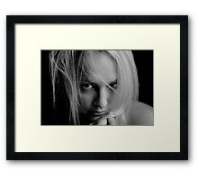 Whos going to fall down at your feet Framed Print