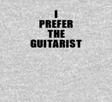 I Prefer The Guitarist - Jimi Hendrix T-Shirt Women's Fitted Scoop T-Shirt