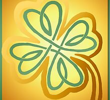 Green N Gold Shamrock   by Lotacats