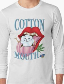 Marijuana Cotton Mouth T-Shirt Long Sleeve T-Shirt